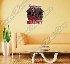 "Vengeance Anarchy Devil Satan Death Wall Sticker Room Interior Decor 20""X25"""