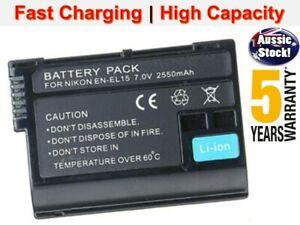EN-EL15 Battery for Nikon D7200 D7100 D7000 D850 D600 D7500 D810A Z6 Z7