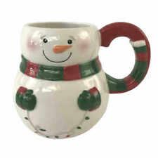 Boston Warehouse Holiday Lite Snowman 18 Oz Mug