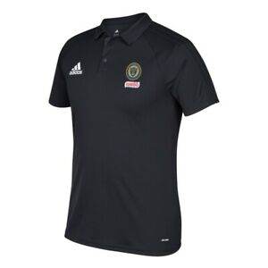Philadelphia Union MLS Adidas Men's 2017 Sideline Climalite Black Polo Shirt