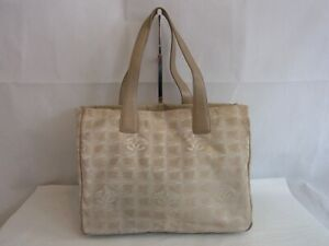 Auth WC28 CHANEL New travel line tote bag MM with serial seal from Japan