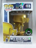 Icons Funko Pop - MTV Moon Person (Gold) - MTV - Popcultcha Exclusive - No. 18