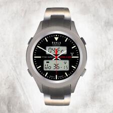 Relojes de pulsera digitales titanios, para hombre