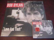 BOB DYLAN LOVE & THEFT [Digipak] ORIGINAL 2001 RARE EDITION + 180 GRAM VINYL SET