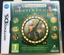 jeu professeur layton et le destin perdu DS nintendo FRA Français avec notice