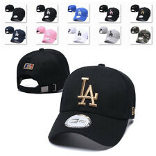 Embroidered Los Angeles Dodgers Baseball Cap Strapback Adjustable Comfy Sun Hat