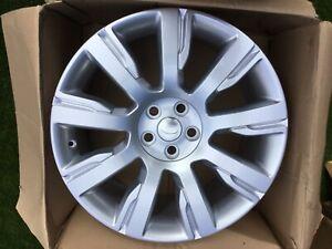 "4 X 21"" Genuine LAND ROVER DISCOVERY 5 Alloy Wheels Silver HY32-1007-FA Original"