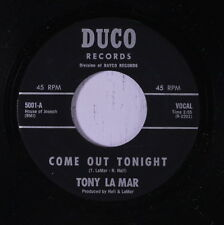 TONY LA MAR & GROUP: Come Out Tonight / Promises 45 rare Vocal Groups