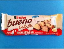 3 packs of kinder bueno white chocolate bars 39g