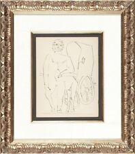 Pablo Picasso - Deux Contes: Centaure et sa Carriole - Original Drypoint Etching