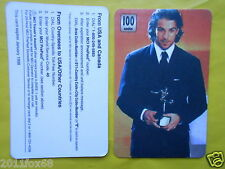 1998 phone cards 100 units alessandro del piero juventus 1998 rare telefonkarten