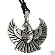 34I Silver PEWTER Fire Bird PHOENIX PENDANT Necklace