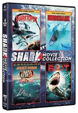 Sharktopus / Dinoshark / Jersey Shore Shark Attack / Bait (DVD 4 disc) NEW