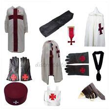 masonic regalia-KNIGHTS TEMPLAR (KT) PACKAGE (MANTLE/TUNIC/CAP/GLOVES/CASE)