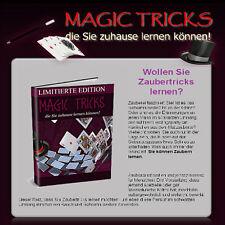 Magic Tricks/Zaubertricks, mit PLR-Reseller-Lizenz, Homepage, Fotos, Grafiken