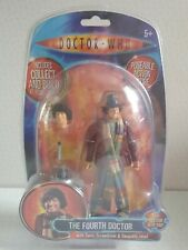 DOCTOR WHO The Fourth Doctor Tom Baker Figure K1 Collect And Build (NEW)