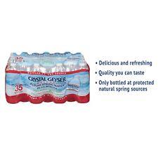 Crystal Geyser Alpine Spring Water 16.9 oz Bottle 35/Case 35001CT