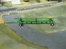 1/64 SpecCast Unverferth AWS Fieldrunner Header Transport Cart Green High Detail
