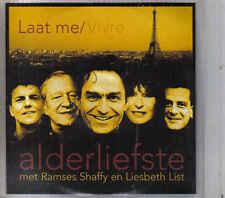 Alderliefstemet Ramses Shaffy en Liesbeth List-Laat Me Promo cd single