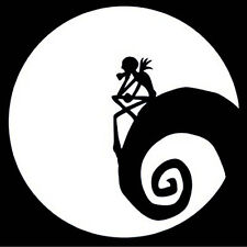 Nightmare Before Christmas Car Decal Window Home Truck Bumper Laptop  Sticker