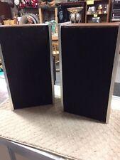 Vintage Sony SS-23 Bookshelf Speakers 12W 8 ohms wall wood finish- TP