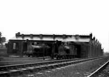 PHOTO  LOCO SHED GWR WREXHAM GENERAL VIEW OF THE FORMER GREAT CENTRAL DEPOT IN T