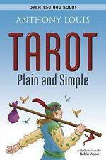 Tarot Plain and Simple by Anthony Louis (2002, Paperback)