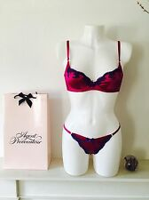 Luxuriant Exuberant& Sexy ! Molly Thong Set by Agent Provocateur RRP£255,32D/S=2