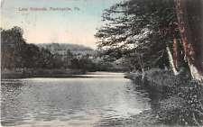 Factoryville Pennsylvania Lake Nokomis Antique Postcard J52999