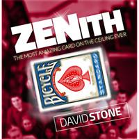 Zenith (DVD and Gimmicks) By David Stone,Card Magic Tricks,close Up Magia Joke
