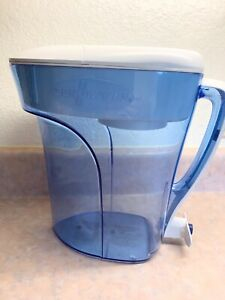 ZEROWATER 12 CUP READY POUR FILTERED WATER PITCHER  BPA-FREE ZD-012RP