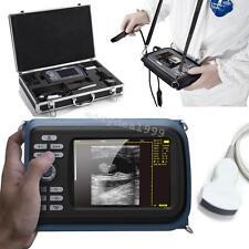 Veterinary Portable Digital Palm Smart Ultrasound Scanner Machine Covex Case Dog
