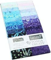 "Timeless Treasures Batik Tonga Treats - Fantasy - (20) 2.5"" Fabric Strip"