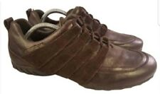 Size eur 7/US 9.5 Mephisto allrounder woman athletic shoes brown suede leather