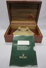 Box Ref. 55.00.01 + Docs Holder Oyster Quartz Leather & Wood Watch Gift