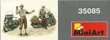 MiniArt 35085 US Military Police Motorcycles Crew - Motorräder 1:35