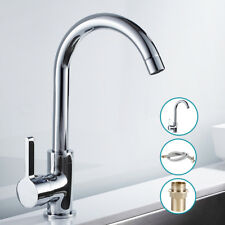 Sink Lever Mixer Tap Set Bathroom Kitchen Pull Out Swivel Spray Spout Faucet CA