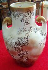 Large Antique English Chatsworth Amphora Shaped Vase.