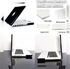 "TopCase BLACK Crystal See Thru Hard Case Cover for Macbook 13"" 13.3"" (1st..."