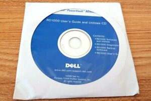 DELLRD 1000 User's Guide and Utilities CD - 2x CD Set