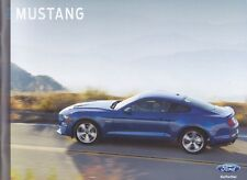 2018 Ford Mustang  Factory Original   Sales Brochure   36 Pages