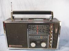 SILVERTONE WAYFARER Six Band RADIO 8227 Sears Sanyo 1960's AM FM Short Long Wave