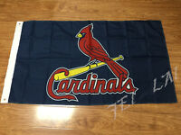 St. Louis Cardinals Blue 3x5 Feet Banner Flag MLB baseball