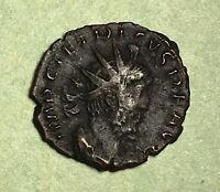AD:270-273 TETRICUS I BRONZE  ANTONINIANUS OF ANCIENT ROME COIN.