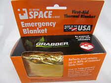 Grabber Emergency First Aid Thermal Blanket MADE IN USA 9814EBOS MZ0504D