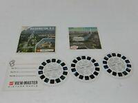 Washington, D.C. View-Master 3 Reel Packet Set A790 GAF