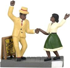 the Lindy Hop Dept 56 Christmas in the City Village 6005390 accessory snow Z