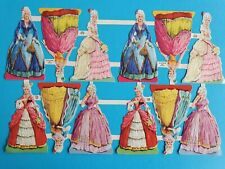 MLP VINTAGE ORIGINAL  SCRAPS LADIES   SHEET NO 931   9,1/2 X  6, IN