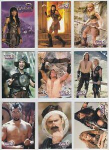 1998 Topps Xena Warrior Princess Series Season 1 Complete 72 Card Base Set