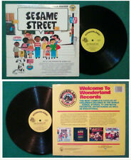 LP 33 Giri The Golden Orchestra & Chorus Songs For Sesame Street POP CHILDREN'S